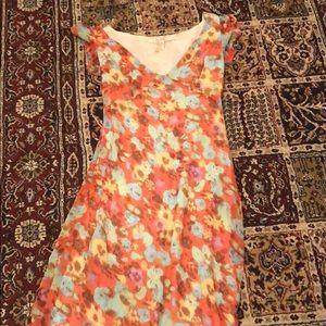 Floral Summer Free People Midi Dress